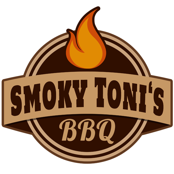 Smoky Tonis Barbeque Logo